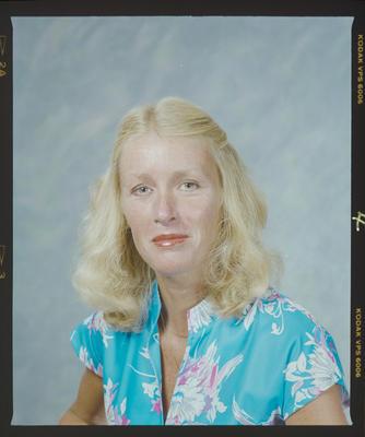 Negative: Mrs Clark Headshot