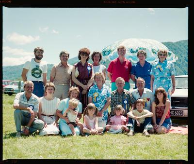 Negative: Murchison School 1984 Reunion Watson Family
