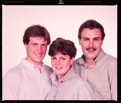 Negative: Maria Mann and Two Brothers