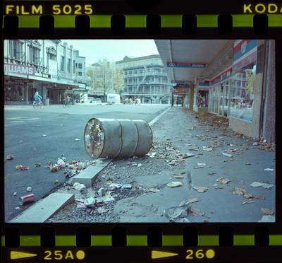 Negative: Rubbish On High Street