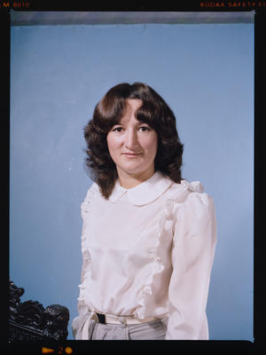 Negative: Miss Moore or Miss Bell Portrait