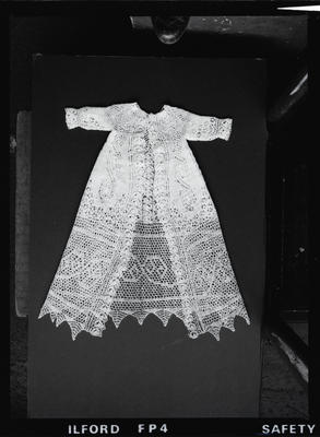 Negative: Mrs Stove's Christening Gown