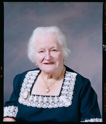 Negative: Mrs Morris Portrait