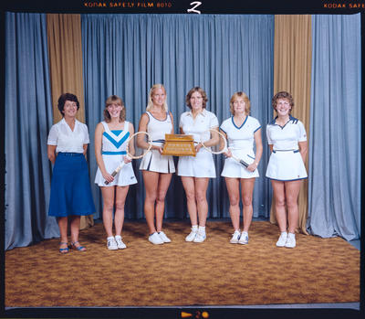 Negative: Canterbury Lawn Tennis Girls Team 1982