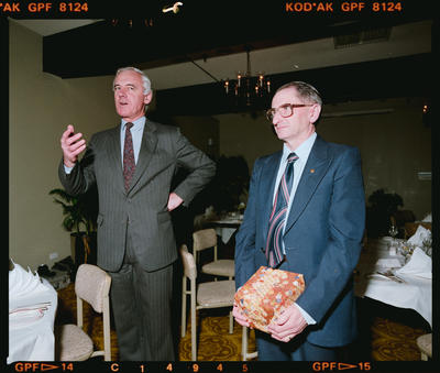 Negative: Shell Oil 25 Year Dinner 1990