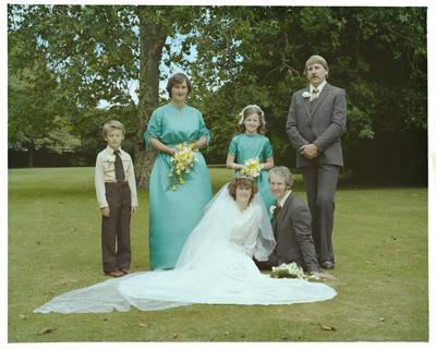Negative: Densem-Clark Wedding