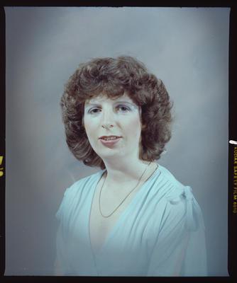 Negative: Miss McElananan Portrait