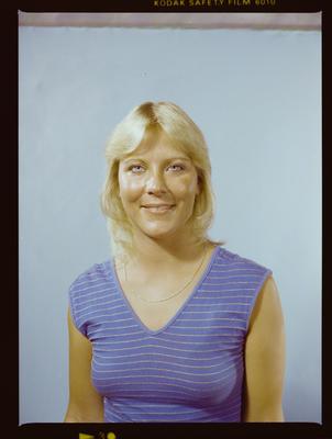 Negative: Miss Brown Passport Photo