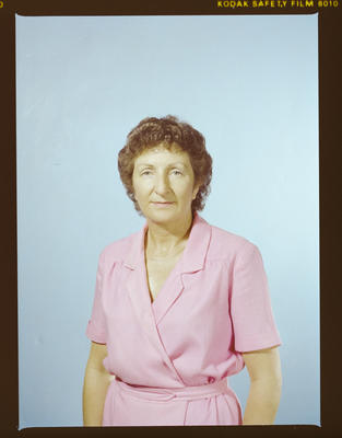 Negative: Jan Pluck Passport Photo
