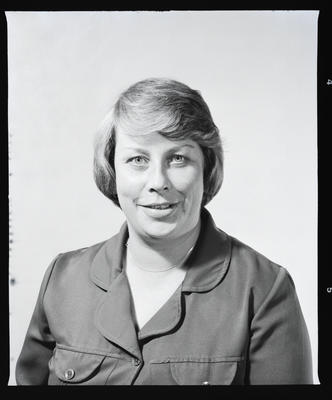 Negative: Miss M. A. Smith Portrait; 29 Jan 1982; 2019.10.4140