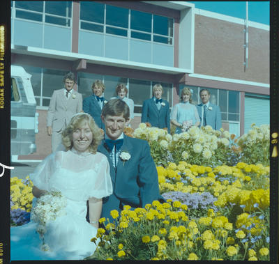 Negative: Erickson-Van Surksum Wedding; 06 Feb 1982; 2019.10.4144