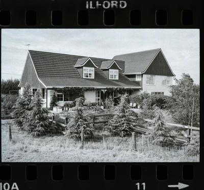 Negative: J. W. Harding's House