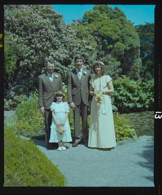 Negative: Leithead-Martin Wedding; 14 Nov 1981; 2019.10.4154