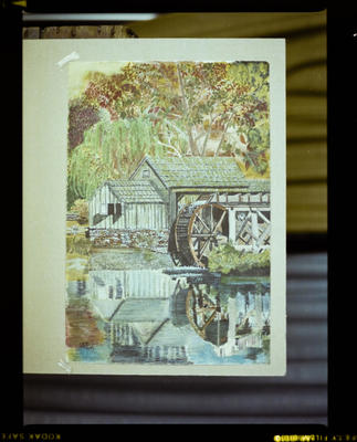 Negative: Photo Of A Painting