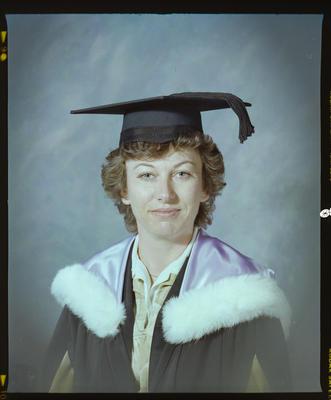 Negative: Ms O'Donnell Graduate