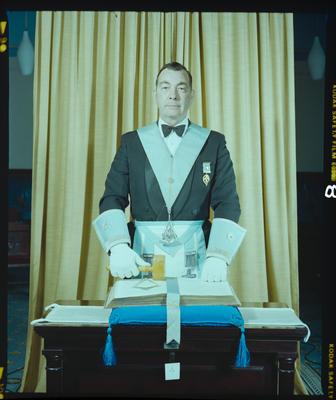 Negative: Mr Elmslie Freemasons Portrait