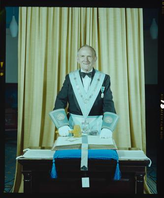 Negative: Mr Jeffey Freemasons Portrait