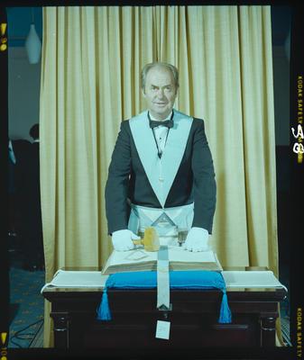 Negative: Mr R. James Freemasons Portrait