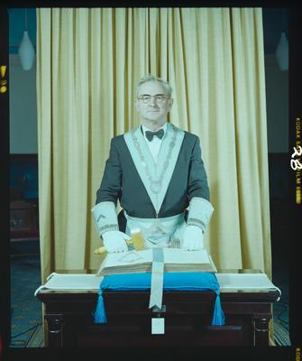 Negative: Mr Smith Freemasons Portrait