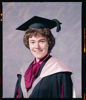 Negative: Miss Chisnell Graduate