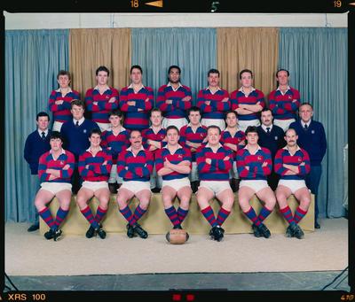 Negative: Sydenham Senior B Rugby Team