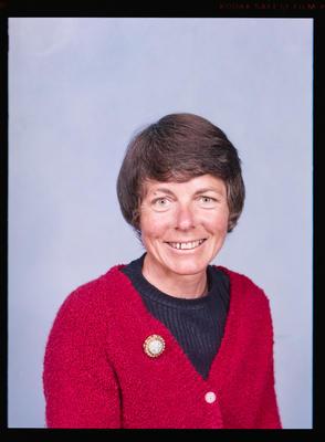 Negative: Mrs Sinclair Passport Photo