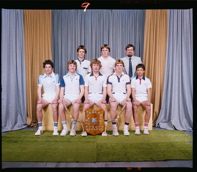Negative: CBHS Tennis Team 1982