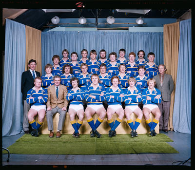 Negative: Lincoln College 1st XV Rugby 1982
