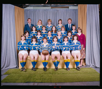 Negative: Lincoln College Women's Rugby 1982