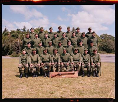 Negative: Burnham Camp Platoon 1982