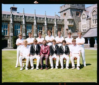 Negative: Christ's College 1st XI Cricket 1982