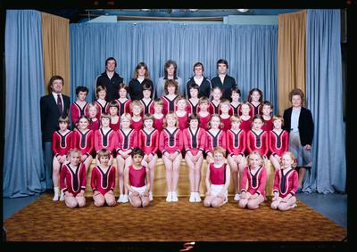 Negative: Canterbury Gymnastics Junior Group 1982