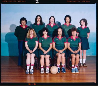 Negative: Albion Netball Teams 1982