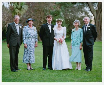 Negative: Burry-Parsons Wedding