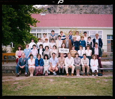 Negative: Redcliffs Primary School 75th Jubilee 1961-70 Group