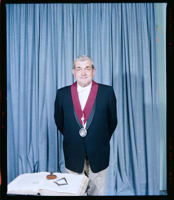 Negative: Mr Smith Freemason Portrait
