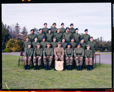 Negative: Burnham B.T.D. Group Portrait