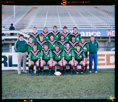 Negative: Linwood Rugby League Senior Team 1983
