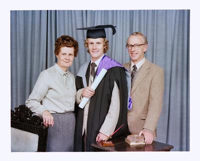 Negative: Mr Bryant Graduate and Family