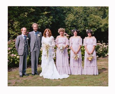 Negative: Woods-Southern Wedding; 12 Feb 1983; 2019.10.4521