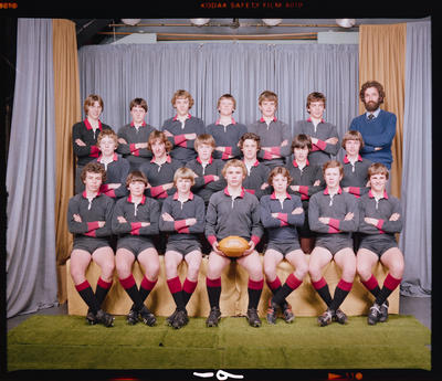 Negative: St Bede's College Rugby Team 1980