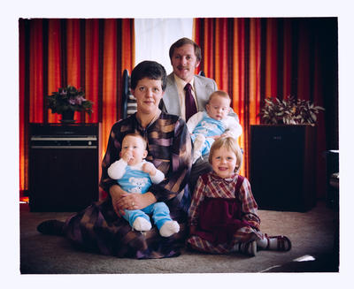 Negative: Matthews Family Portrait