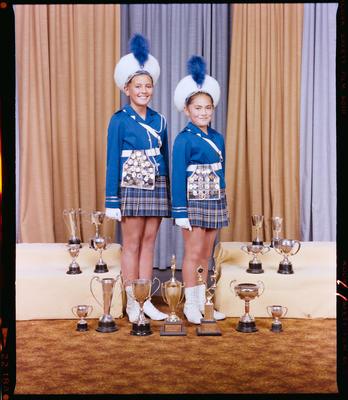 Negative: Sockburn Ford Lasers Marching Team Members 1983
