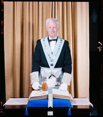 Negative: Mr E. B. Green Freemason Portrait