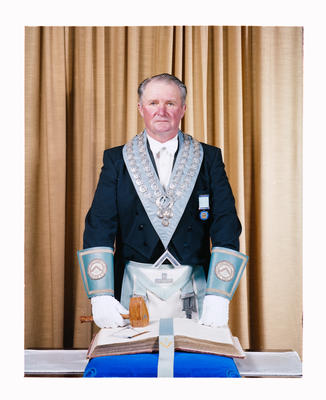 Negative: Mr N. C. McLeod Freemason Portrait