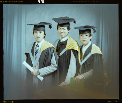 Negative: Messrs Kwong, Chow, and Teoh Graduates