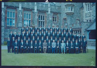 Negative: Christ's College Julius House 1981