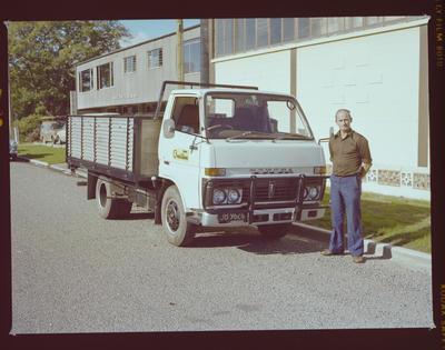 Negative: Mr Shearman and Truck