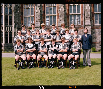 Negative: Christ's College 1st XV Rugby 1979
