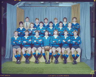 Negative: CBHS Rugby Team 1983